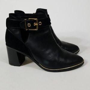 Ted Baker London Black Nissie Ankle Boot 38.5